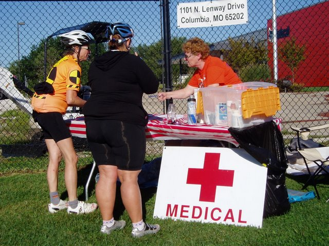 Bike MS Medical Support On Route